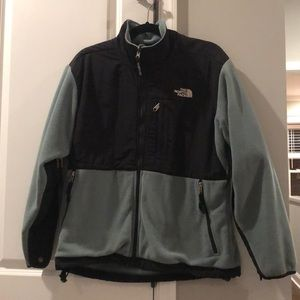 North Face Green Fleece Jacket
